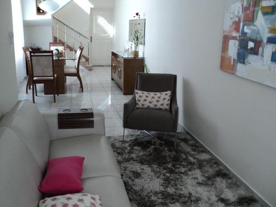 Sobrado Residencial À Venda, Vila São Jorge, São Vicente. - So0084