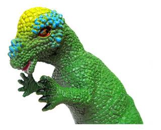 Dinosaurio Goma N47 Pachycephalosaurus Medio 20cm Juguete