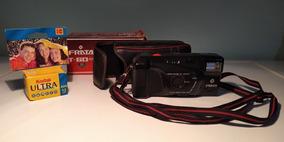 Câmera Fotográfica Analógica Antiga Frata T-60 Aw C/ Defeito