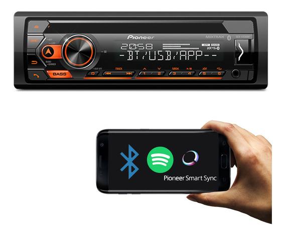 Aparelho De Som Pioneer Deh-s4280bt Bluetooth Usb Fm Aux