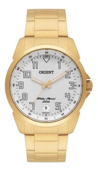 Relógio Orient Masculino Dourado Mgss1103a S2kx
