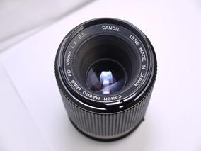 Canon Fd S.c 100mm Macro F4 Baioneta Fd