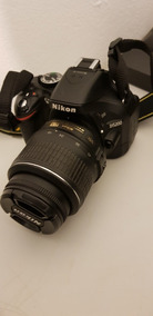 Camera Nikon D5200 + Lente 18-55mm Pouco Usada