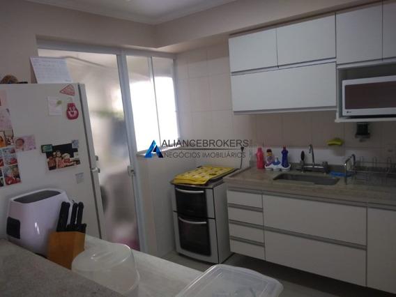 Apartamento À Venda No Residencial Ravenna Com 2 Dormitórios Sendo 1 Suite. - Ap03091 - 33670363