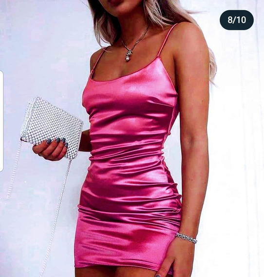 Vestido Barbie De Saten