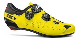Sapatilha Sidi Genius 10 Carbon Amarelo Fluo, 2020 , Speed