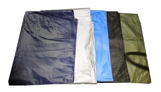 Poncho Impermeable Plástico Excelente En Lluvia Negro