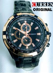 Relógio Masculino Analógico Curren Original