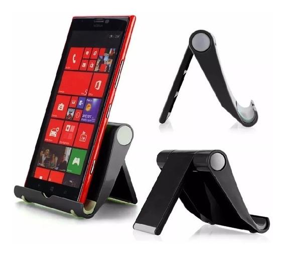 Suporte De Mesa Universal Celular Tablet Smartphone Vexstand