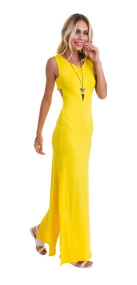 Vestido Triangulo Amarelo