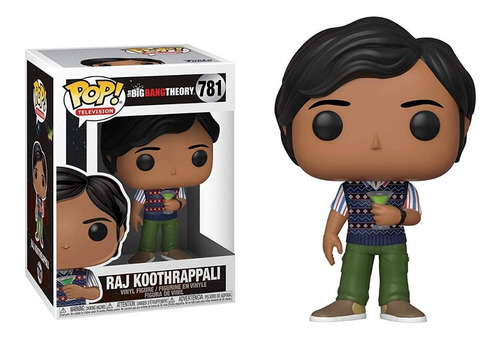 Funko Raj Koothrappali #781 The Big Bang Theory Regalosleon