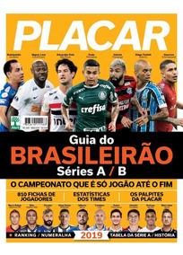 Placar Guia Do Brasileirão 2019 Digitalizado + 2 Álbuns