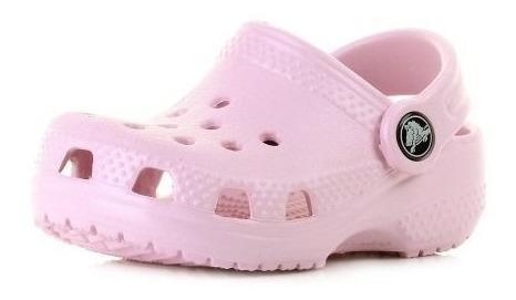 Sandália Crocs Littles Ballerina Pink Original + Nfe