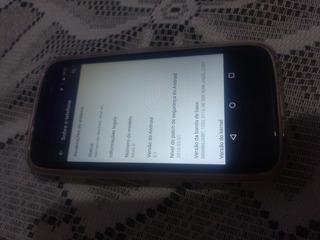 Celular Moto G1 De 16 Gigas, Suporta 2 Chips, C/1 Tampa Capa