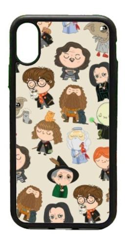 Imagen 1 de 3 de  Funda iPhone 5 6 7 8 Plus X Xr Xs Max 11 Harry Potter Funko