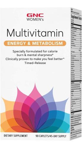 Imagem 1 de 4 de Women's Multivitamínico Energy & Metabolism - Gnc 90 Cáps