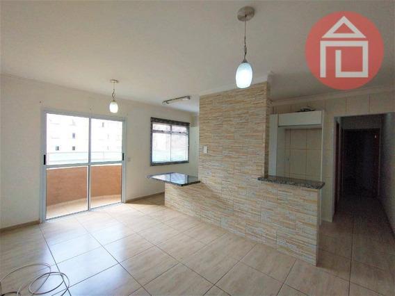 Apartamento Com 2 Dormitórios Para Alugar, 58 M² Por R$ 1.250,00/mês - Residencial Das Ilhas - Bragança Paulista/sp - Ap0777