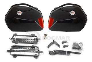 Maletas Laterales Universales Tech X2 22 Litros Para Moto