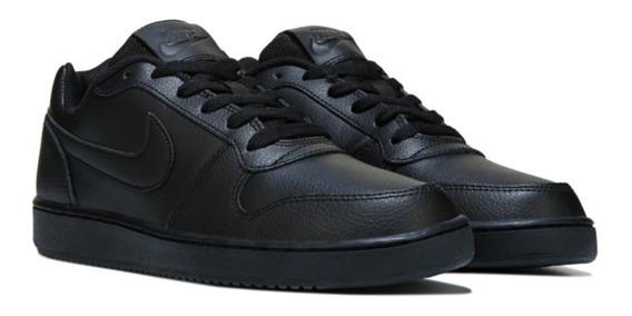Tênis Nike Ebernon Low Preto Casual - Original