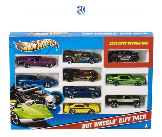 Carros Carritos Hot Wheels 9 Piezas Exclusivas Andyc