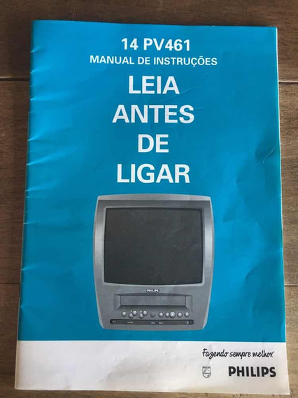 Manual Tv Philips 14 Pv461
