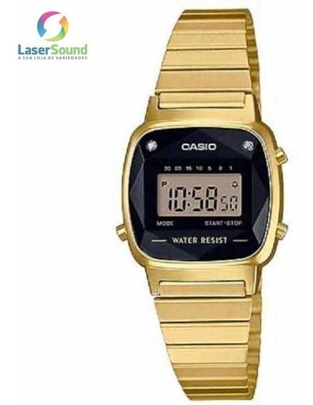 Relógio Casio Feminino La670wgad-1df Vintage C/garantia E Nf