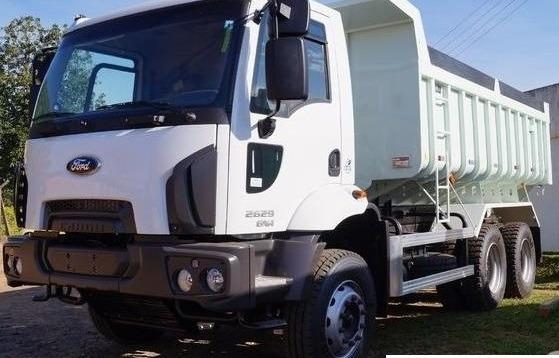 Ford Cargo 2629 6x4 - Caçamba Randon - 14 Mts - 2019
