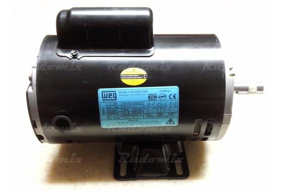 Motor Eléctrico 1/2 Cf Weg Monofásico - ¡envío Gratis!
