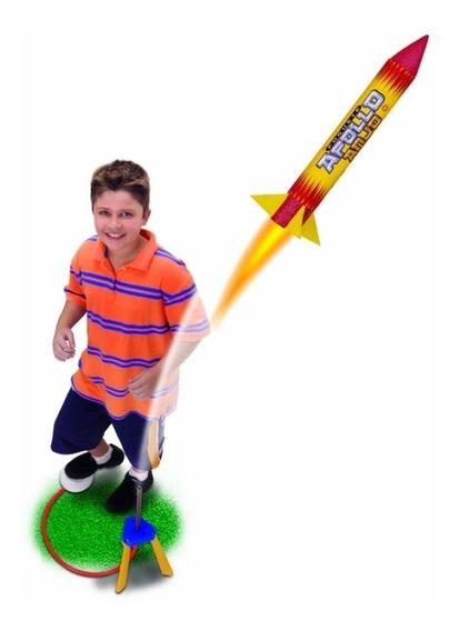 Foguete Apollo Voa De Verdade + De 15 Mt - Brinquedos Anjo