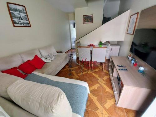 Imagem 1 de 14 de Sobrado Com 2 Dormitórios À Venda, 67 M² Por R$ 385.000,00 - Jardim Santa Mônica - São Paulo/sp - So0806