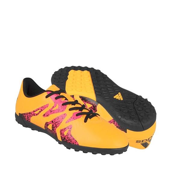 Tenis Fútbol adidas Hombre Simipiel Amarillo S74611