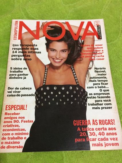 Revista Nova 91 Valeria Monteiro Demi Moore Gerard Depardieu