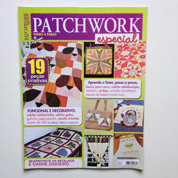 Revista Patchwork Especial Bolsa Cortinas Aventais Cc464