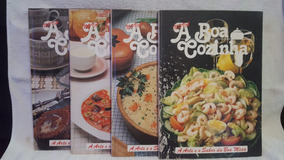 Coleção A Boa Cozinha - 4 Volumes
