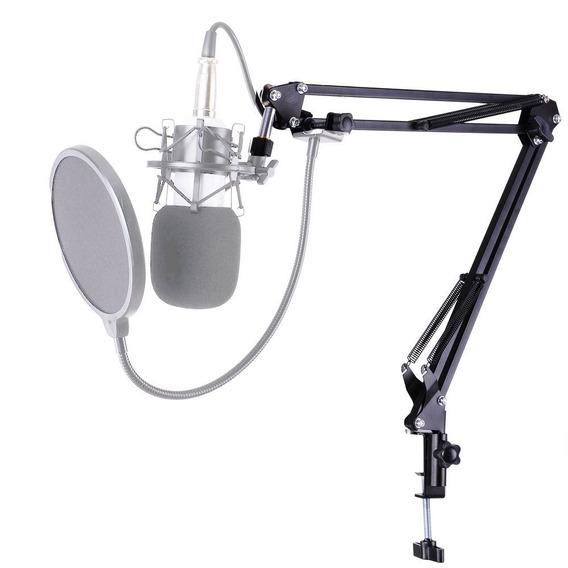 Suporte Articulado Microfone Ksr Radio Studio Pro Radio 35a