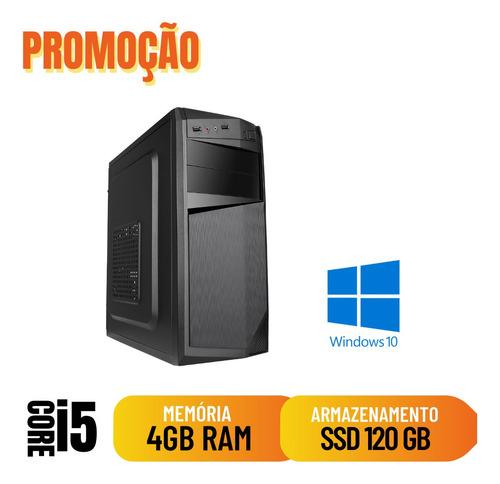 Imagem 1 de 2 de Computador Pc Desktop I5 4gb 120gb Hdmi Windows 10 Pró
