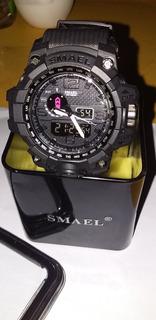Reloj Smael Watch Original Cronometro Sumergible Hasta 50 M