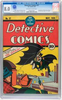 Publicacion Especial Hj Detective Comic 27