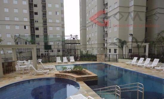 Apartamento Residencial À Venda, Planalto, São Bernardo Do Campo. - Ap1883