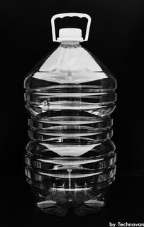 Garrafa O Botella De Pet 10 Litros C/tapa Y Asa