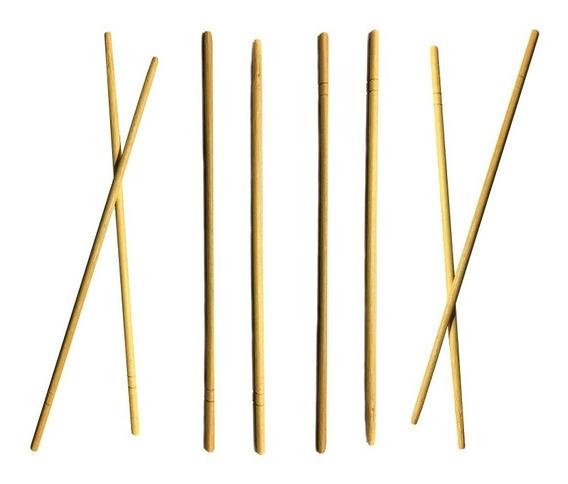 10 Bolsas Palitos Chinos De Bambu Largo Sushi X100 + Envio!