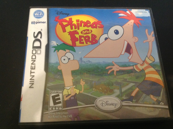 Phineas And Ferb. Ds Video Tano