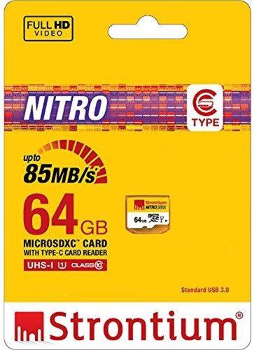 Nitro 64gb Sdxc Uhs-1 Class 10 Memoria Card 64 (sf64ux/tqn)