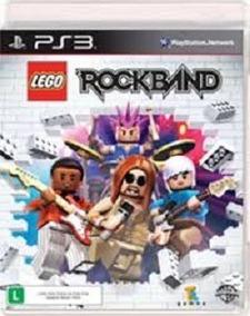 Jogo Ps3 Lego Rockband Mídia Física/ Frete Grátis