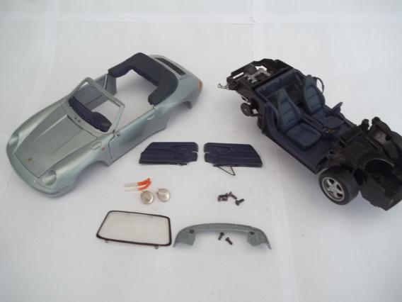 Porsche 911 - Escala 1/18 - Fab. Maisto -sucata Leia Anuncio