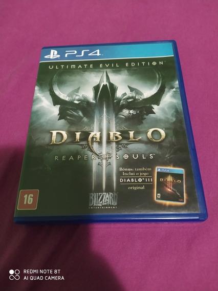 Ps4 - Diablo Iii Reaper Of Souls (mídia Física) Dublado Pt
