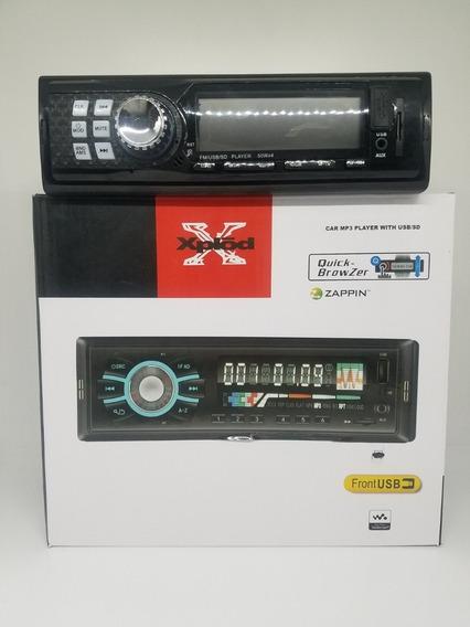 Radio Para Carro Con Fm, Aux, Usb Y Micro Sd