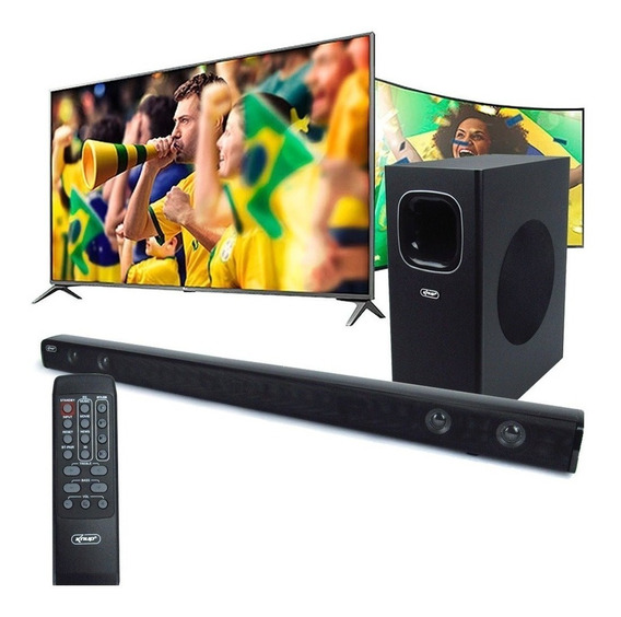 Home Theater Soundbar Subwoofer 120w Rms Bluetooth Smart Tv