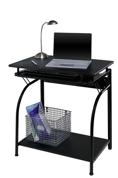 Escritorio Computadora Compacto Negro Oficina Casa Onespace