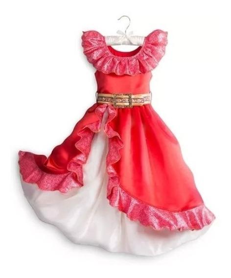 Vestido O Disfraz Elena Oferta Talla 2 Original Marca Disney